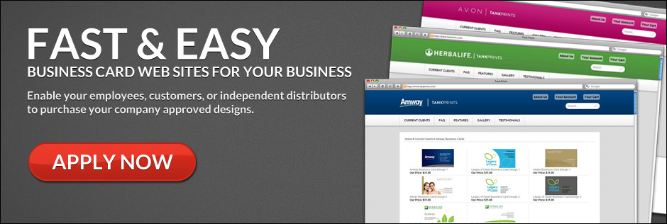 Fast and Easy Business Card Websites for Your Business